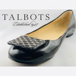 Talbots Shoes - Talbot's Poppy Ballet Flats - Patent Leather